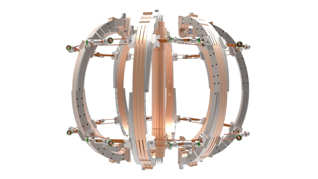 Inside ST40 – the world's first high-field spherical tokamak