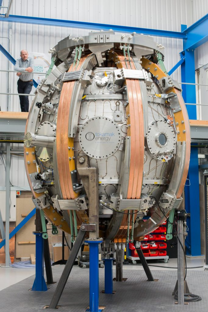 Update Construction Of St40 Is Progressing Well 187 Tokamak