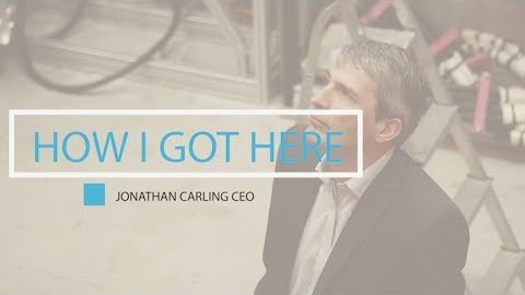 How I Got Here, Jonathan Carling, CEO