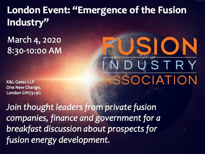 Emergence of the Fusion Industry
