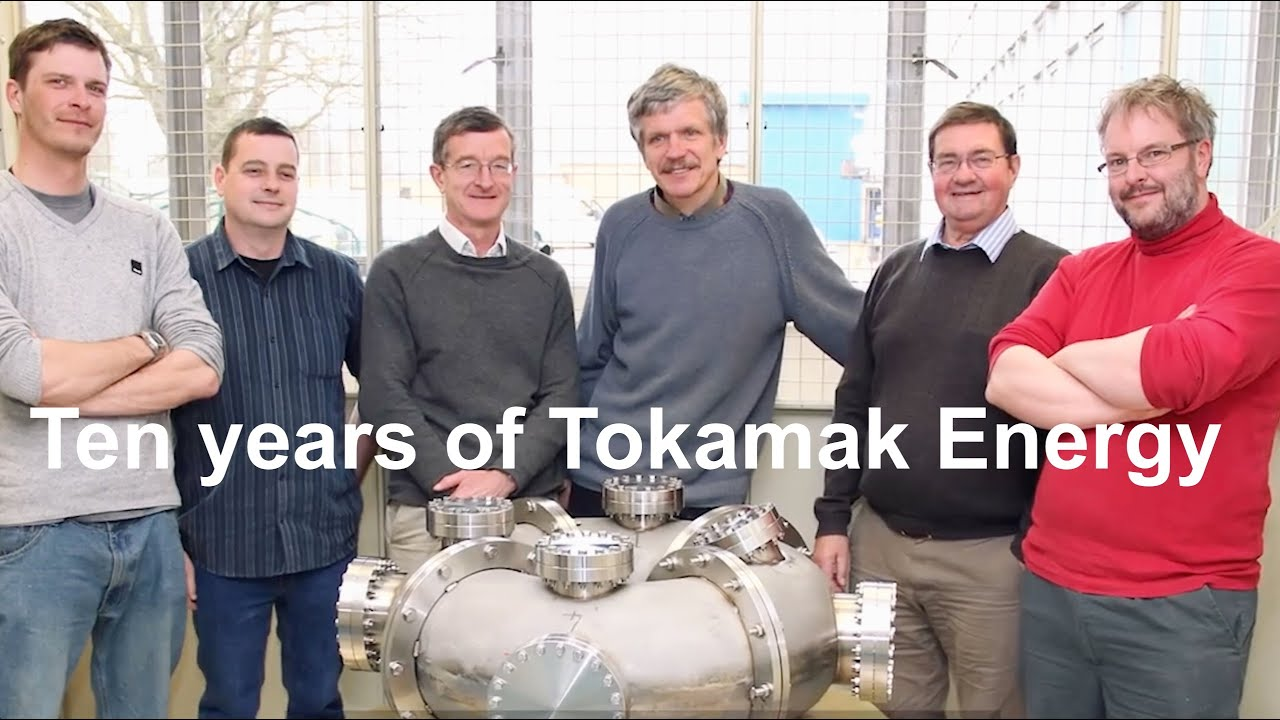 Ten years of Tokamak Energy: the rapid progress of a private fusion company