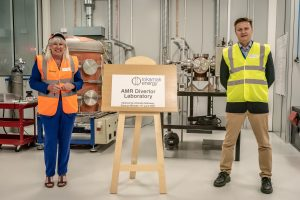 Minister for Science Opens New High-Tech Divertor Lab at Tokamak Energy